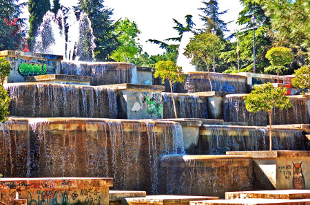 Parque Cataratas Vallecas