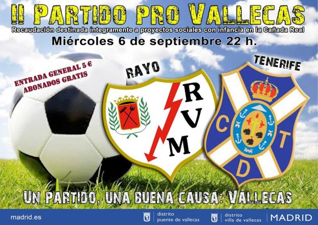Rayo Vallecano torneo Solidario Vallecas