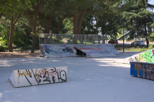 Skateboard Parque Cataratas Vallecas