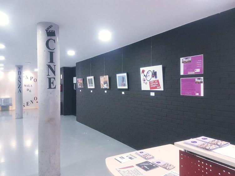Exposición Biblioteca de Mujeres Vallecas