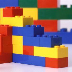 "Taller ""muros LEGOmétricos"""
