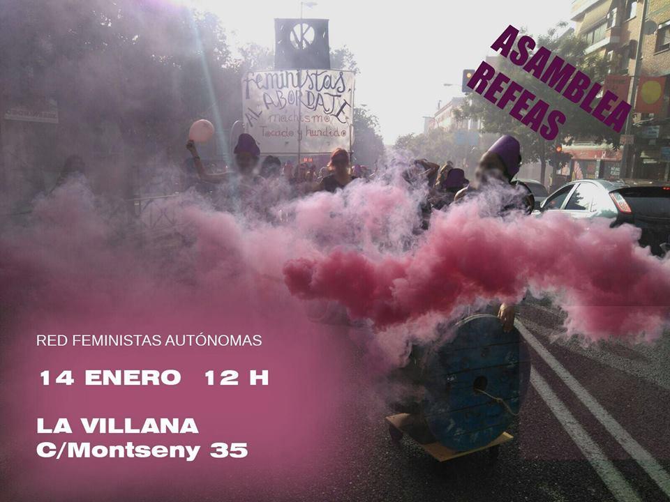 Asamblea REFEAS Vallecas