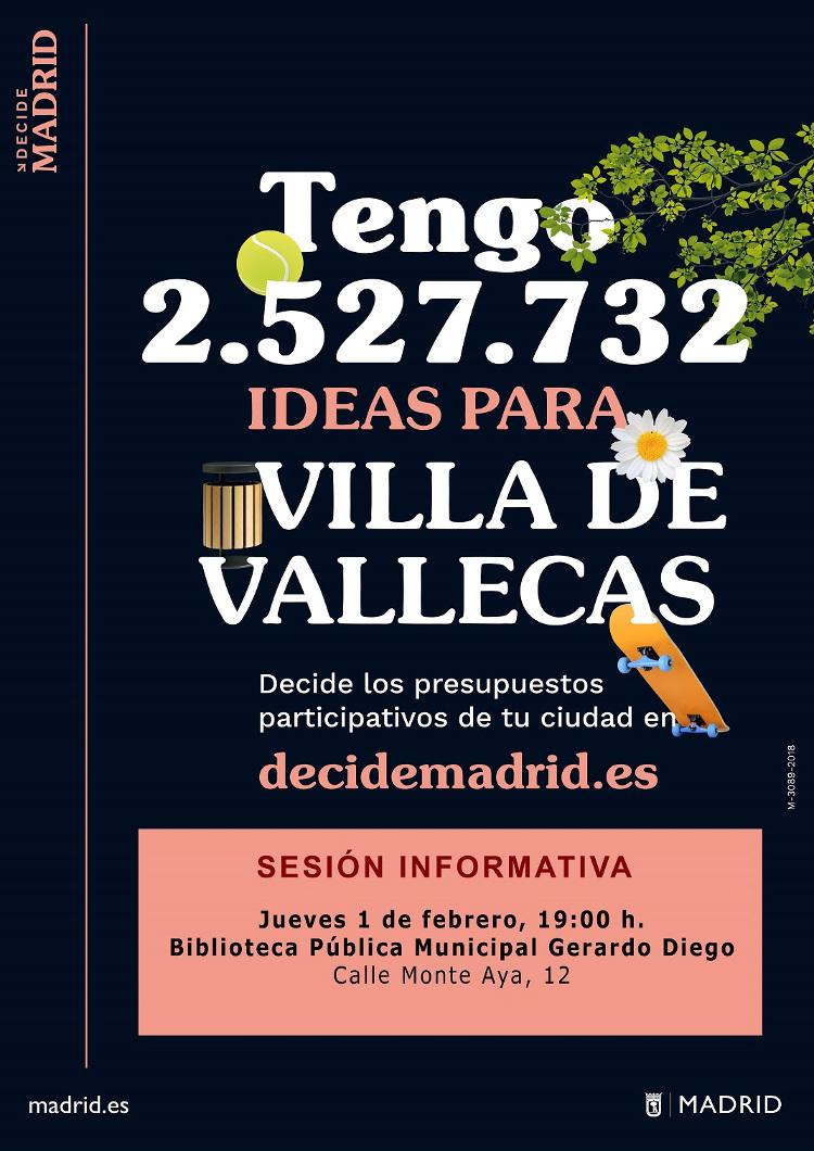 Presupuestos Villa Vallecas