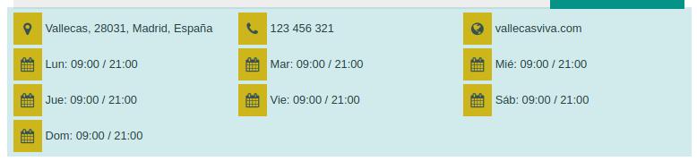 Embajador de Vallecas contacto y horario