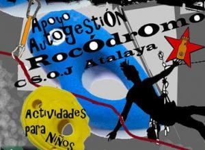 Apoya la autogestión del Rocódromo del CSOJ Atalaya.