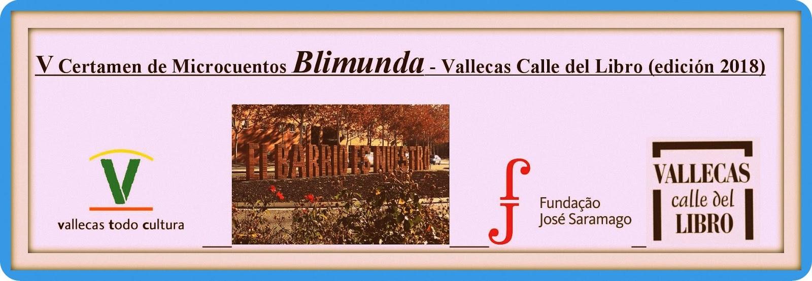 Certamen de Microcuentos Blimunda - Vallecas Calle del Libro (edición 2018)