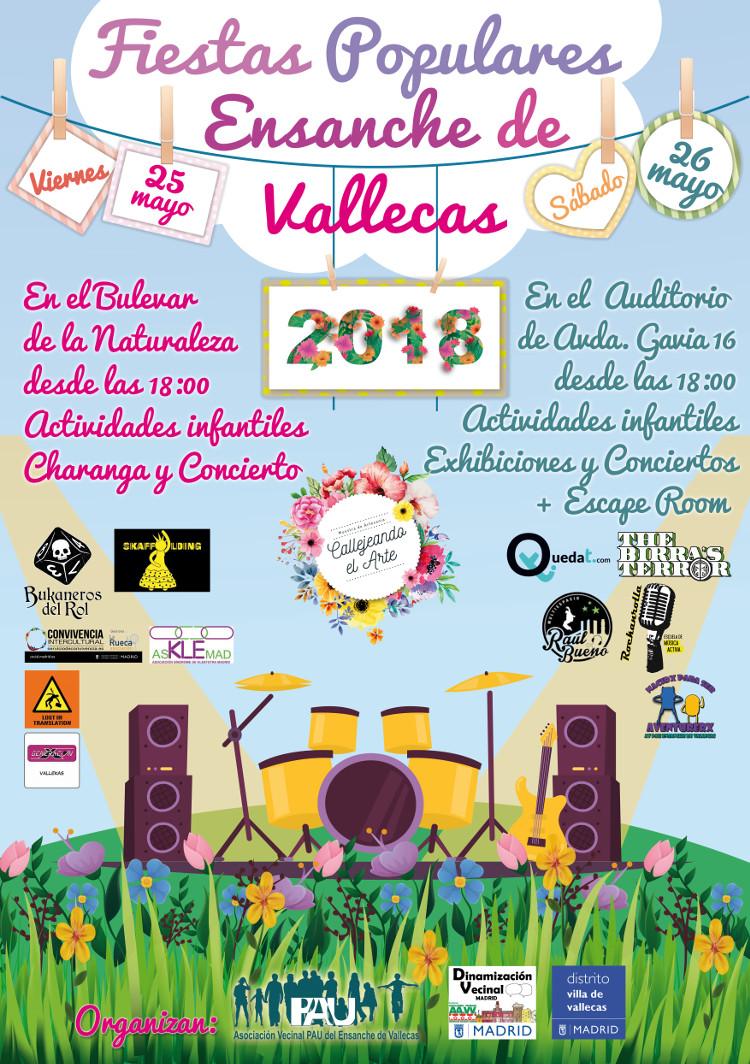 fiestas Populares Ensanche de Vallecas
