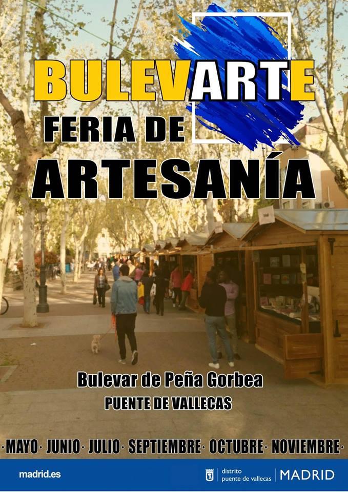 Feria de artesanía BulevArte Vallecas