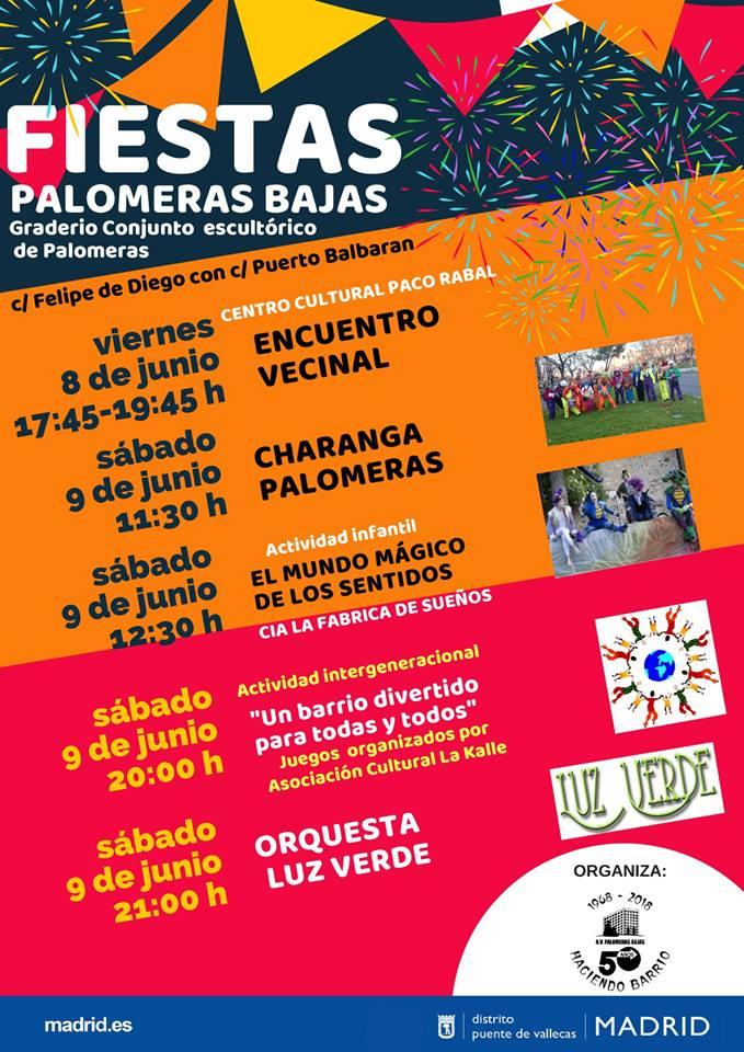 Fiestas Palomeras Vallecas