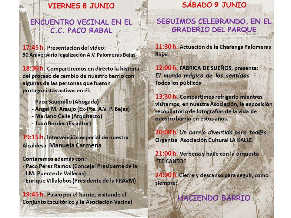 Fiestas Palomeras Bajas Vallecas
