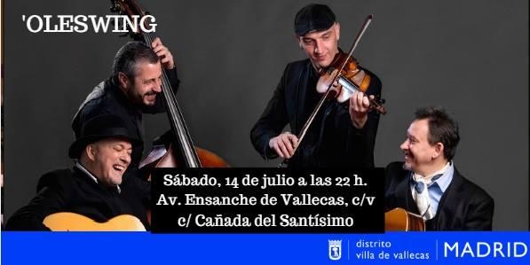 Ole Swing concierto Veranos de la Villa
