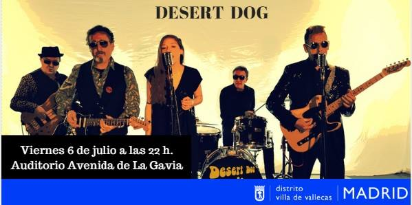 Desert Dog concierto Vallecas