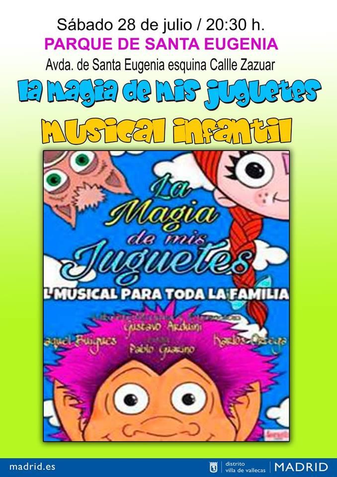 la magia de los juguetes veranos de la villa de Vallecas