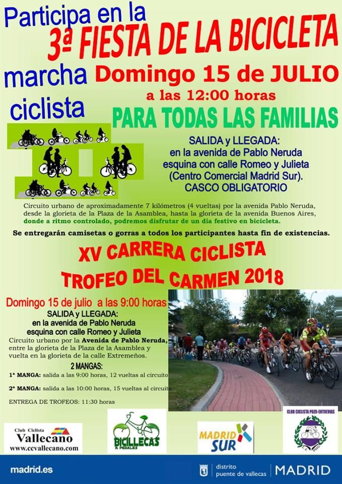 Fiesta de la Bicicleta Vallecas