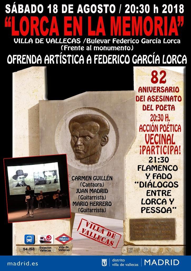 Lorca en la memoria Vallecas