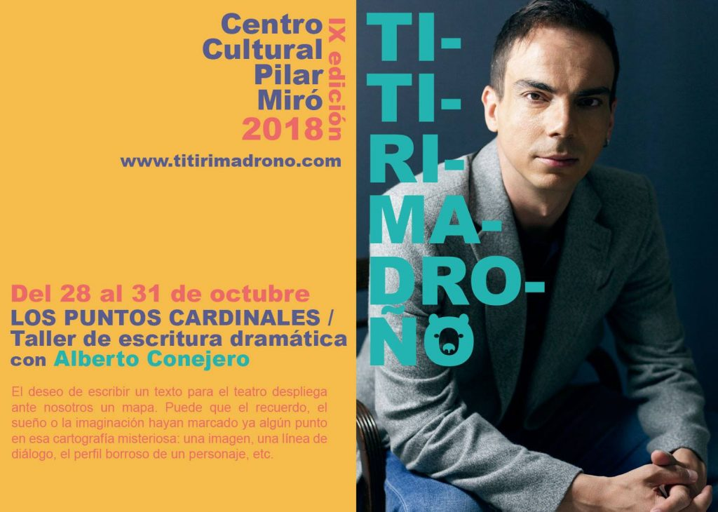 Alberto-Conejero-Titirimadroño Vallecas