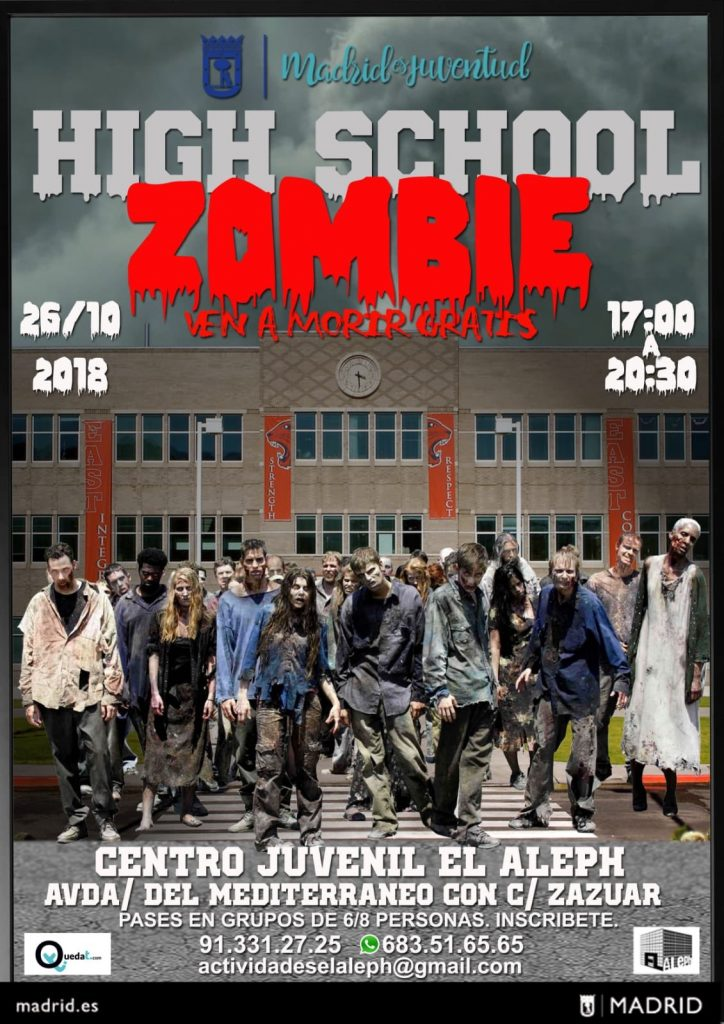 DHigh School Zombie Vallecas