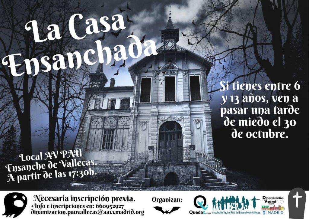 LA casa encantada halloween Vallecas