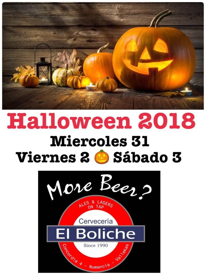 Halloween 2018 en Boliche