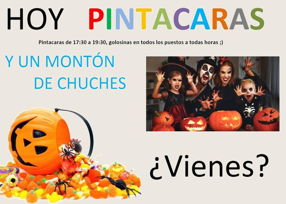 Halloween Mercado Villa de Vallecas