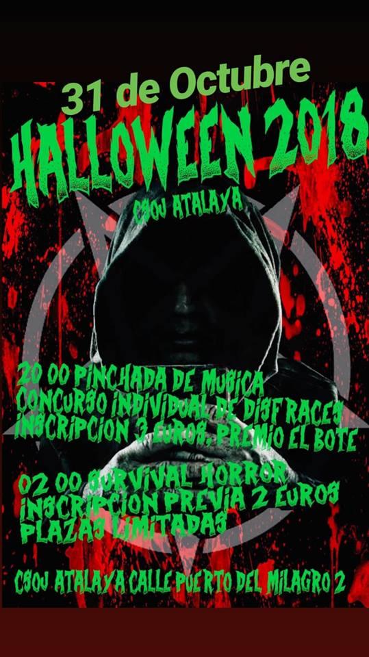 Halloween CSOJ La Atalaya Vallecas