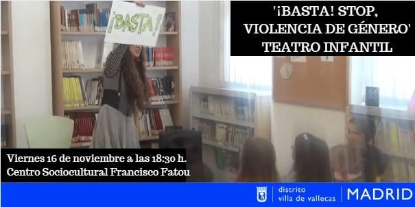 Basta, stop! violencia de género