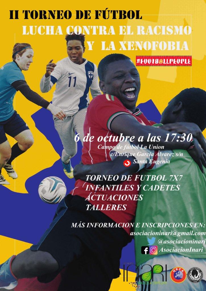 Torneo futobol contra el racismo Vallecas