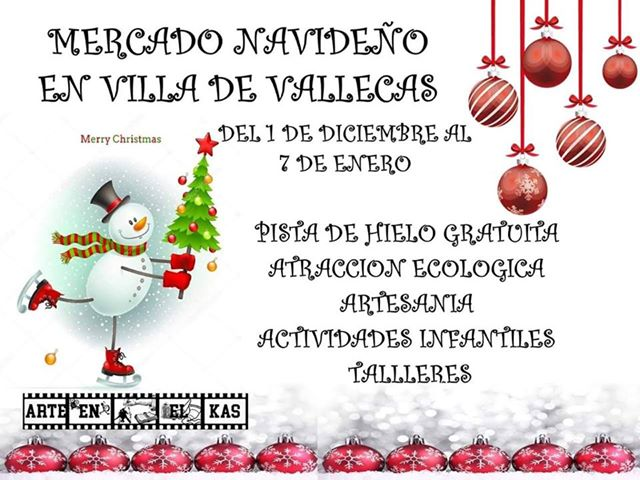 Mercadillo navideño Villa de Vallecas