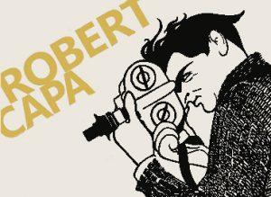 Inauguración del mural Homenaje a Robert Capa