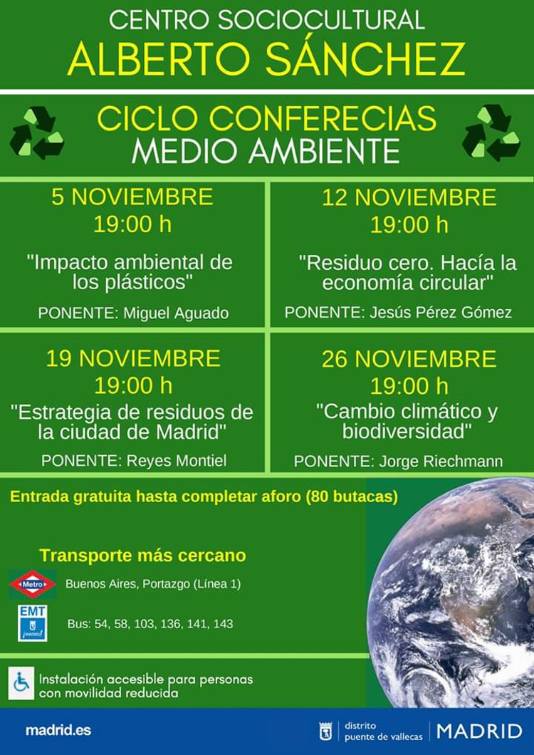 Conferencias Medio AMbiente Vallecas