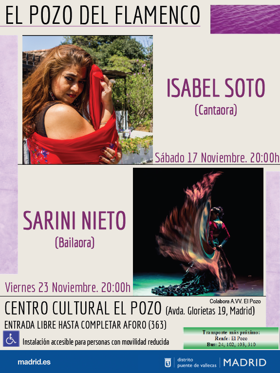 Isabel Soto El Pozo del Flamenco