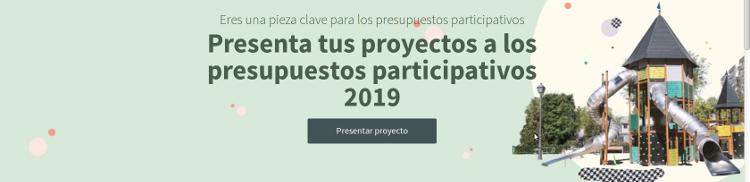 Prersupuestos Participativos Madrid 2019