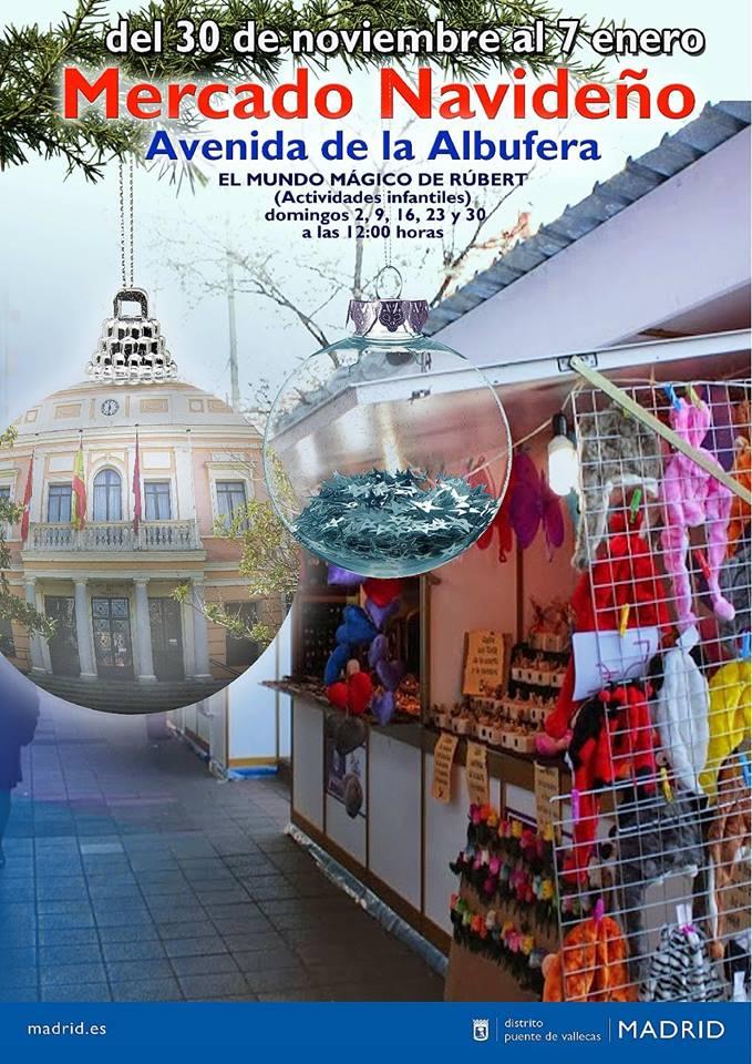 Mercado navideño Puente de Vallecas