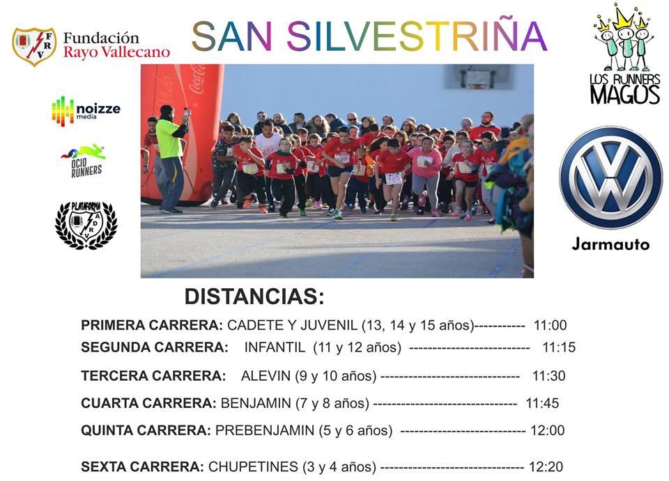 San Silvestriña vallecana 2018