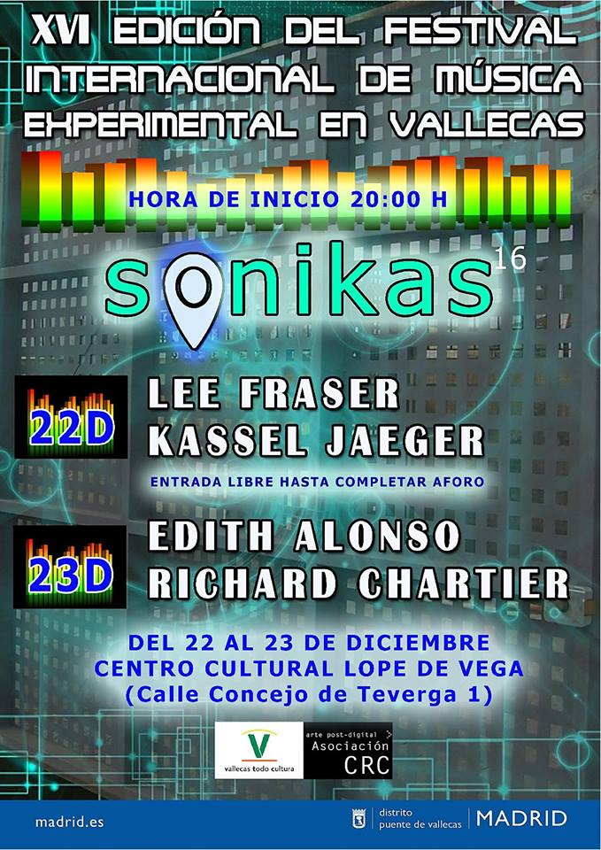 sonikas 2018 Vallecas