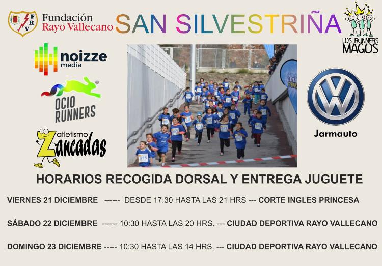 Entrega dorsal San Silvestriña Vallecana