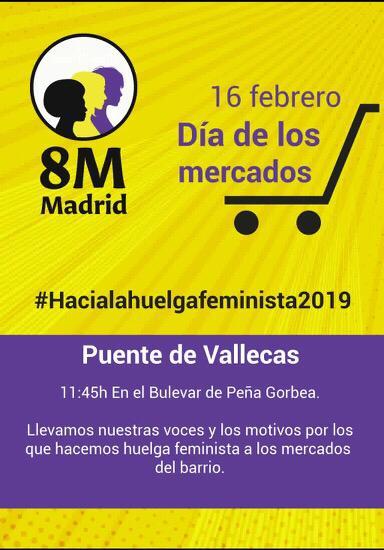 8M Madrid Puente de Vallecas