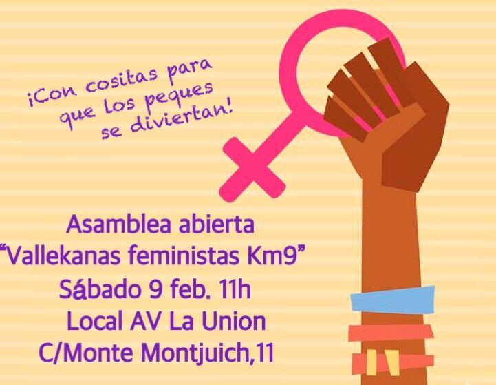 Asamblea Vallekanas Feministas Km9