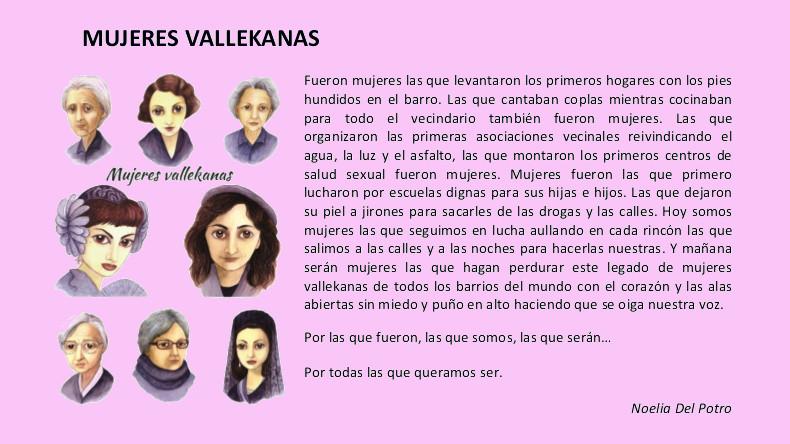 Biografías propuestas_vallekas con nombre de mujer 2019