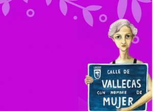 Vallecas con nombre de mujer 2019
