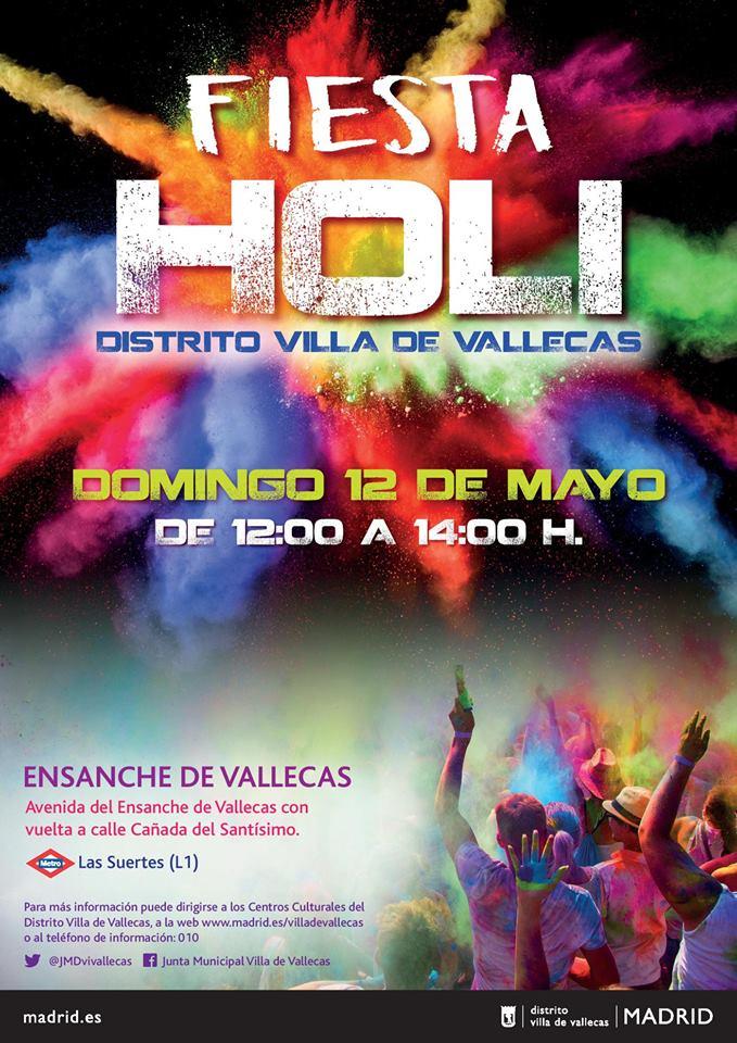 Fiesta Holi Villa de Vallecas