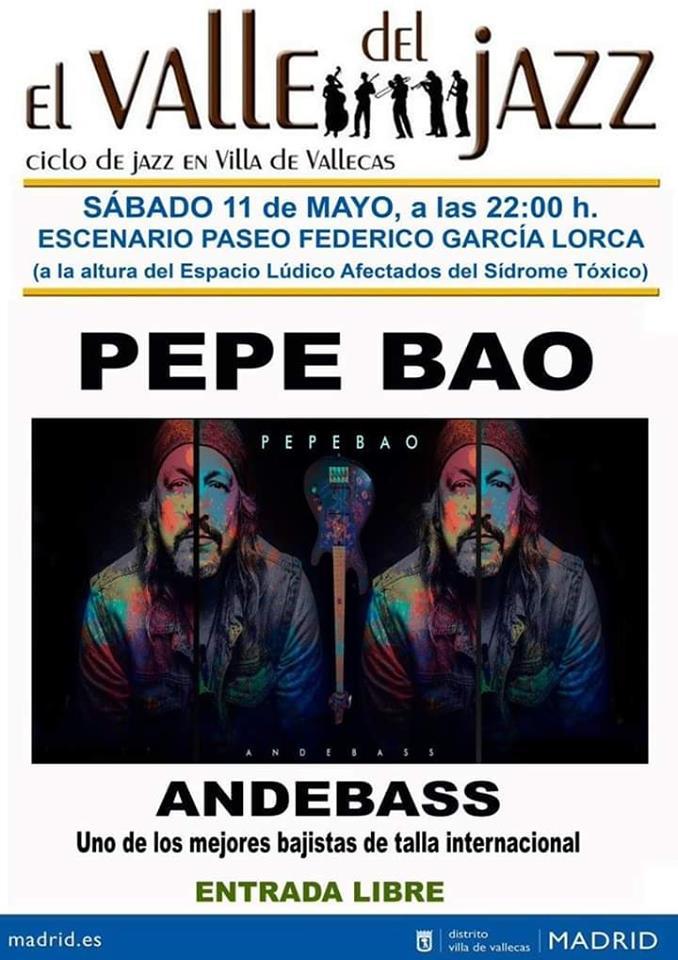 Pepe Bao Fiestas Primavera Vallecas