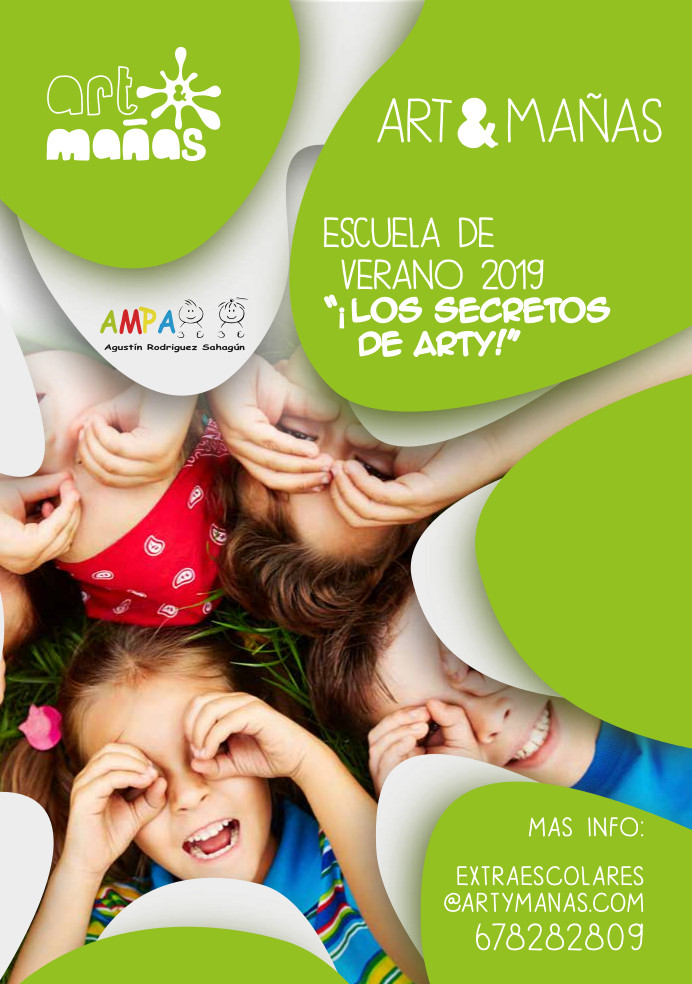 Campamento verano 2019_Art&Mañas _LOS SECRETOS DE ARTY