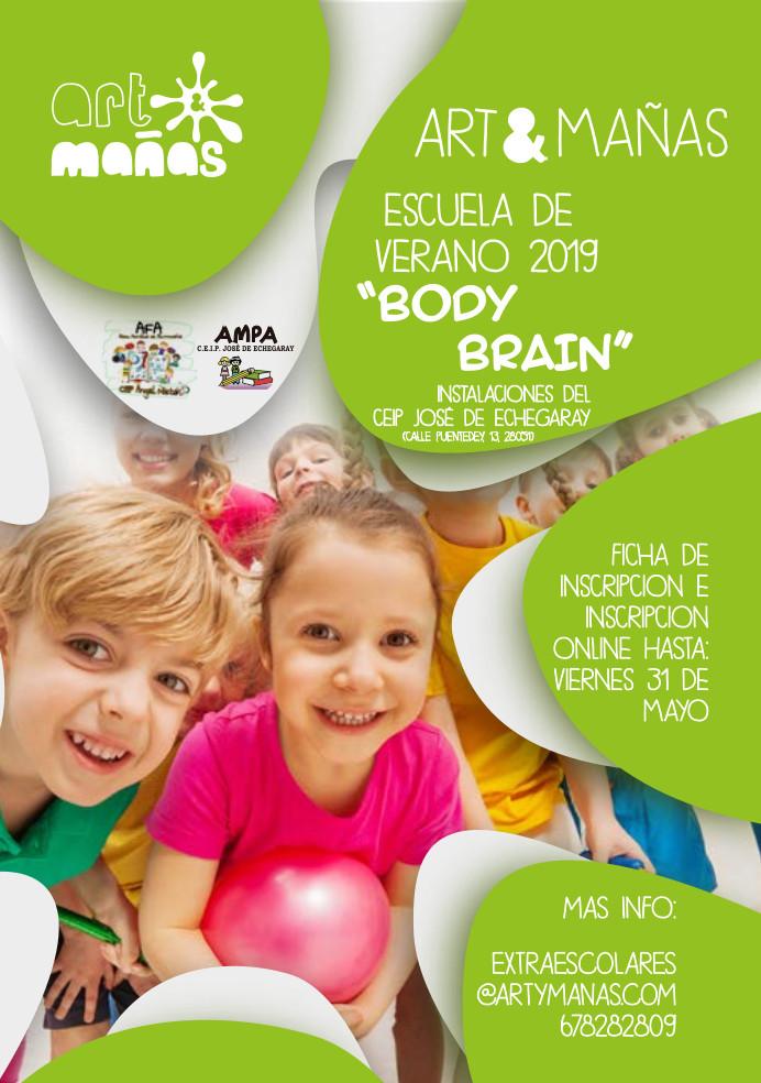Campamento verano 2019_Art&Mañas _BodyBrain Vallecas
