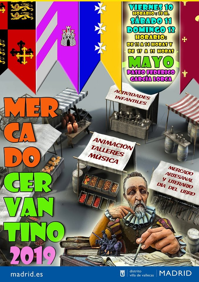 Mercado Cervantino Vallecas 2019