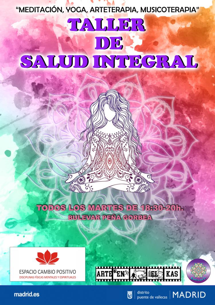 TALLER DE SALUD INTEGRAL-bulevarte Vallecas