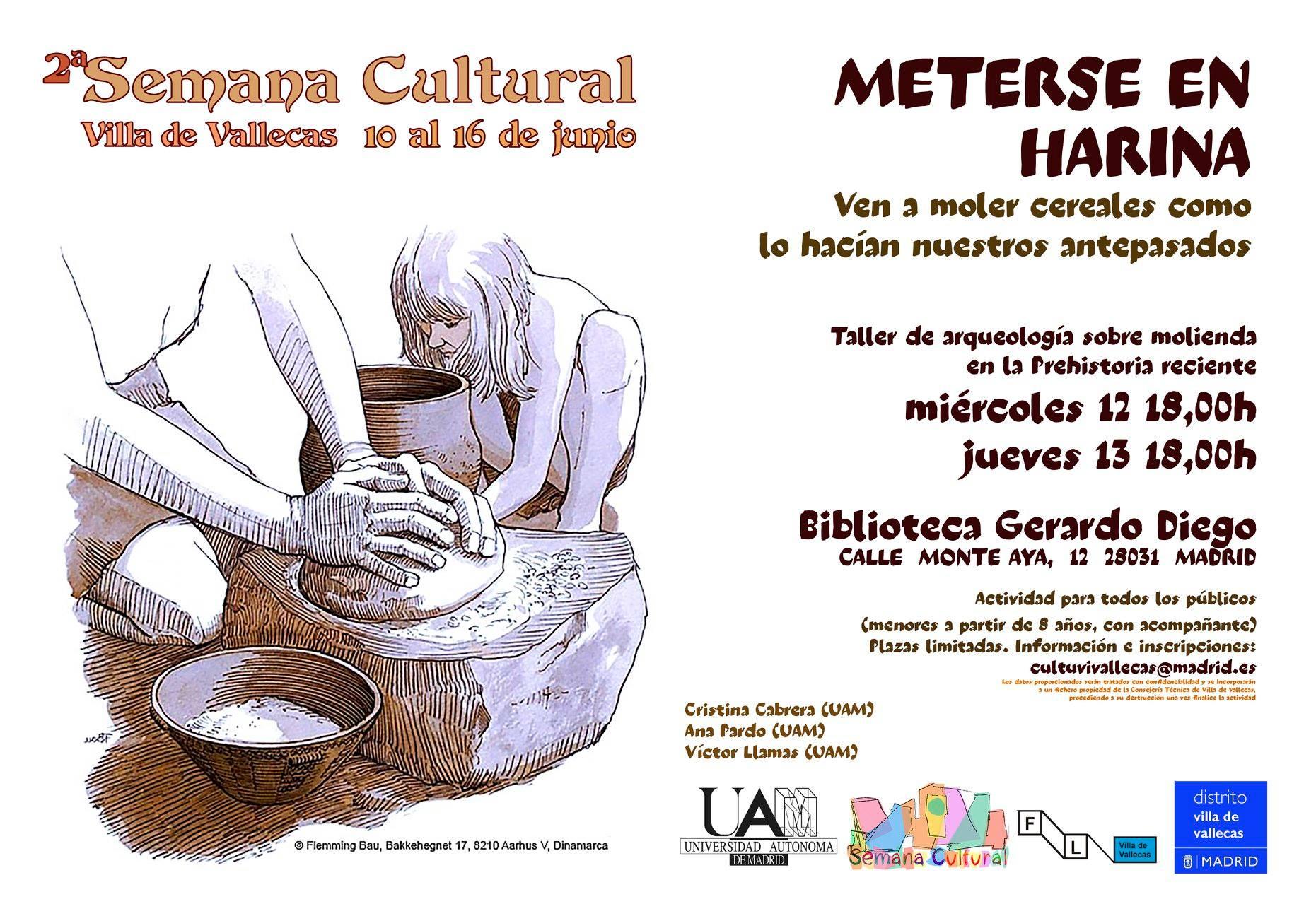 El pan de Vallecas, semana cultural 2019 Vallecas