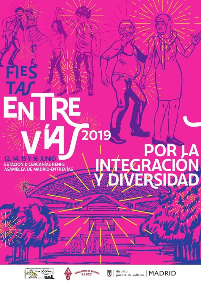 Fiestas Entrevias 20196 Vallecas
