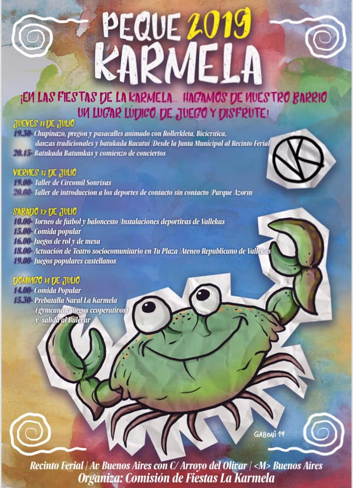 Peke Karmela 2019 Vallecas