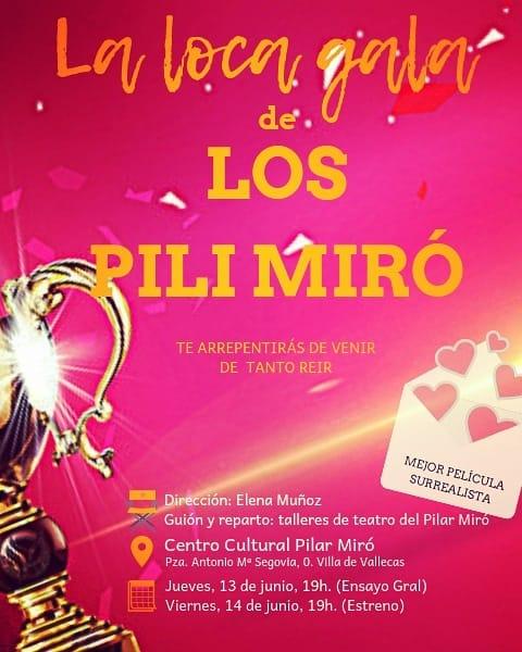 Semana cultural Vallecas los pili miro